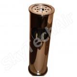 Урна с пепельницей 8 л. Mellow SK02001G