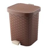 Контейнер педальный для мусора Полимербыт Артлайн 487